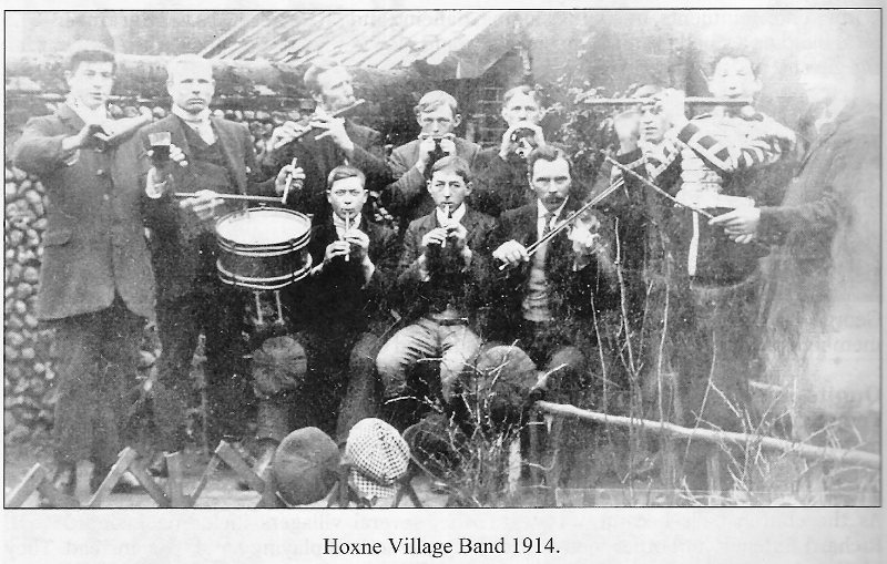 Hoxne Village Band 1914